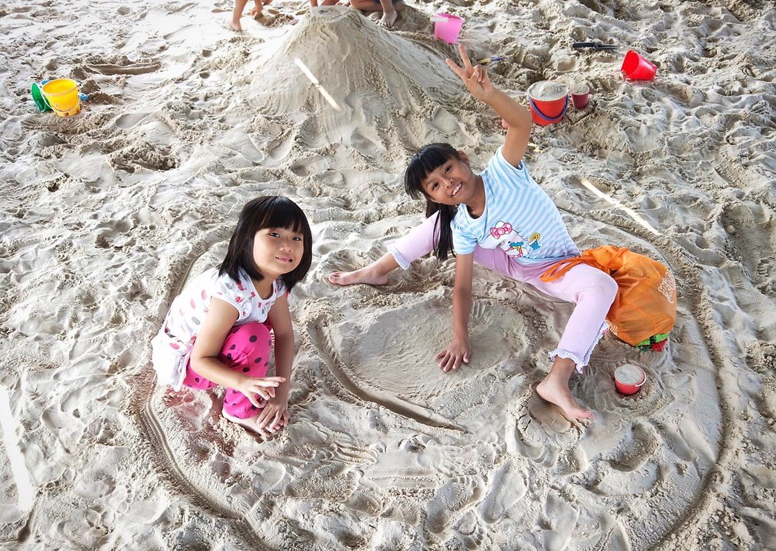 「考古大沙坑」(十三行博物館提供)