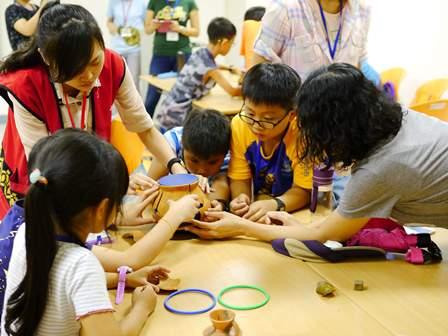 【十三行博物館】環境教育課程 推史前人類生活的五感體驗