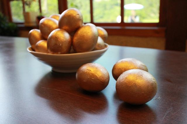 【黃金博物館】端午「金」促咪 立金蛋、射粉團、喝青草茶