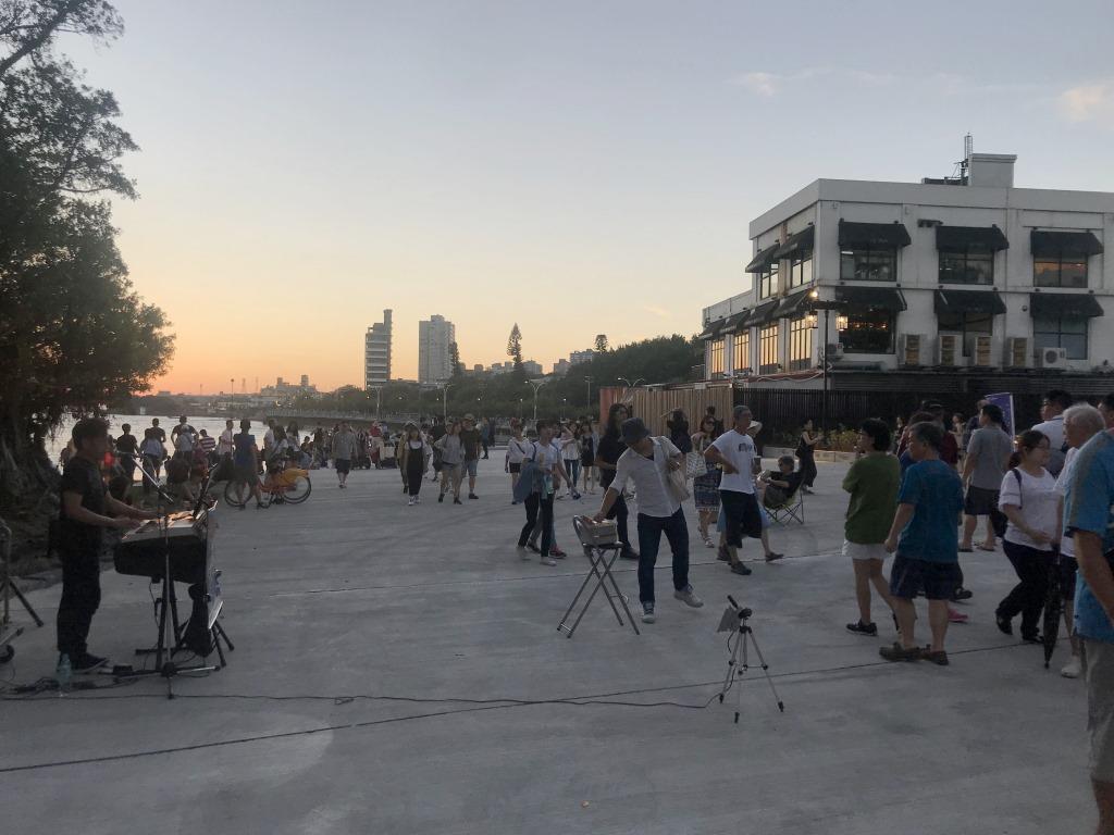 【淡水古蹟博物館】淡水海關碼頭園區無料展演場地 打造街頭藝人表演理想的舞台